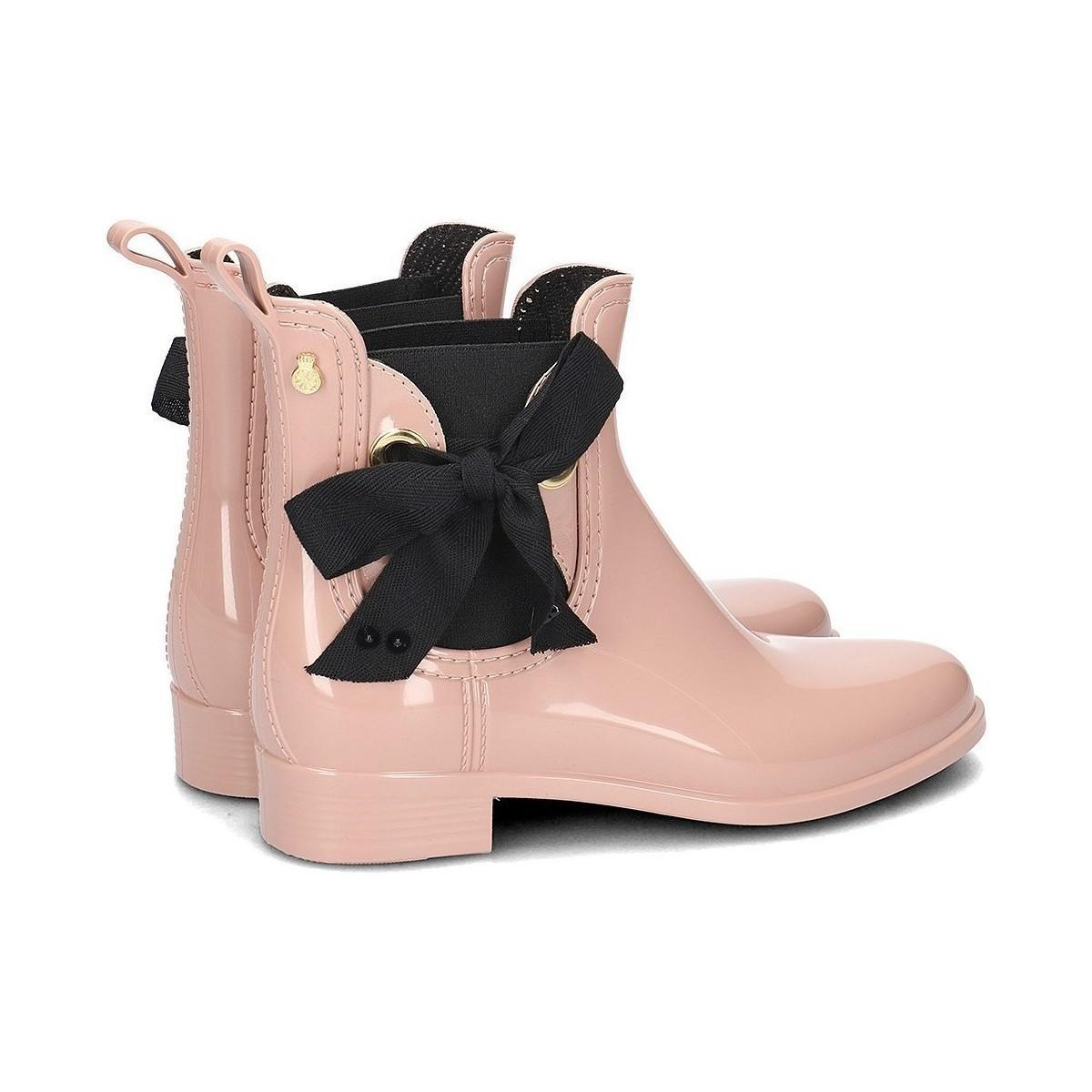 Lemon Jelly Haley02rose Women's Wellington Boots In Pink