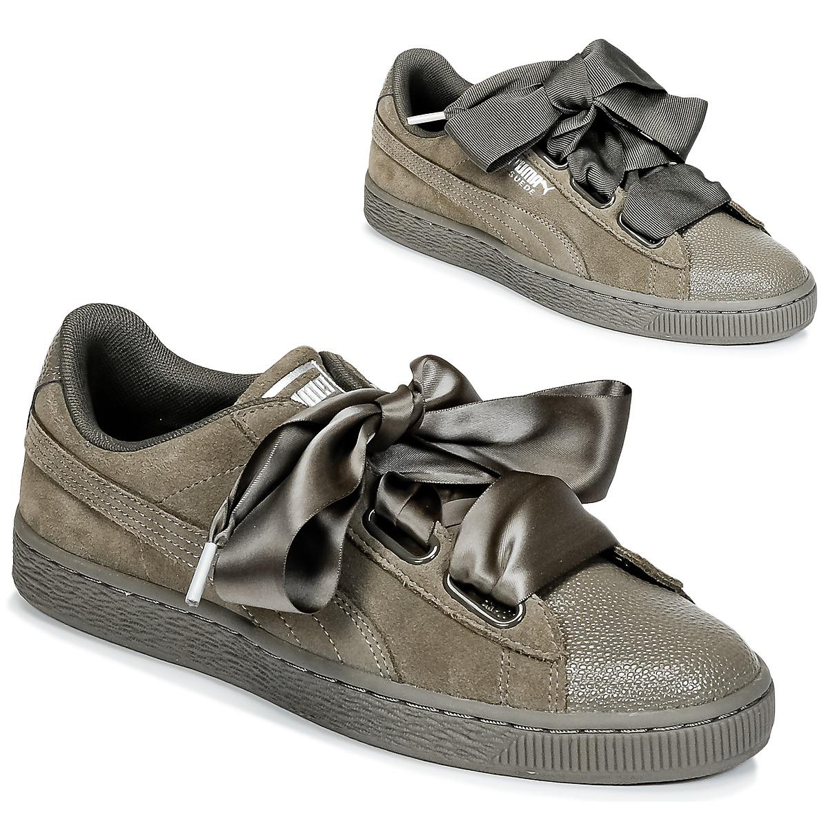 506b84c76f9821 PUMA Suede Heart Bubble W s Shoes (trainers) in Green - Save 12% - Lyst