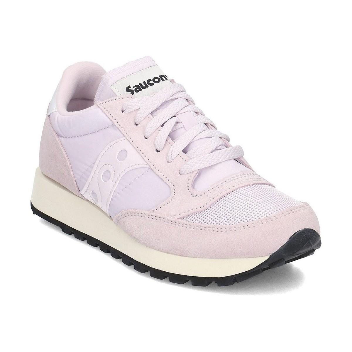 c9ff03613a3 Saucony Jazz Original Women s Shoes (trainers) In Pink in Pink - Lyst