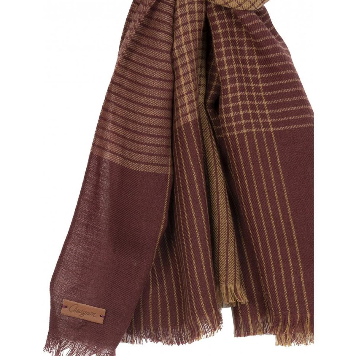 ab0ea02a07 Echarpe laine/coton hommes Echarpe en rouge Chevignon pour homme en ...