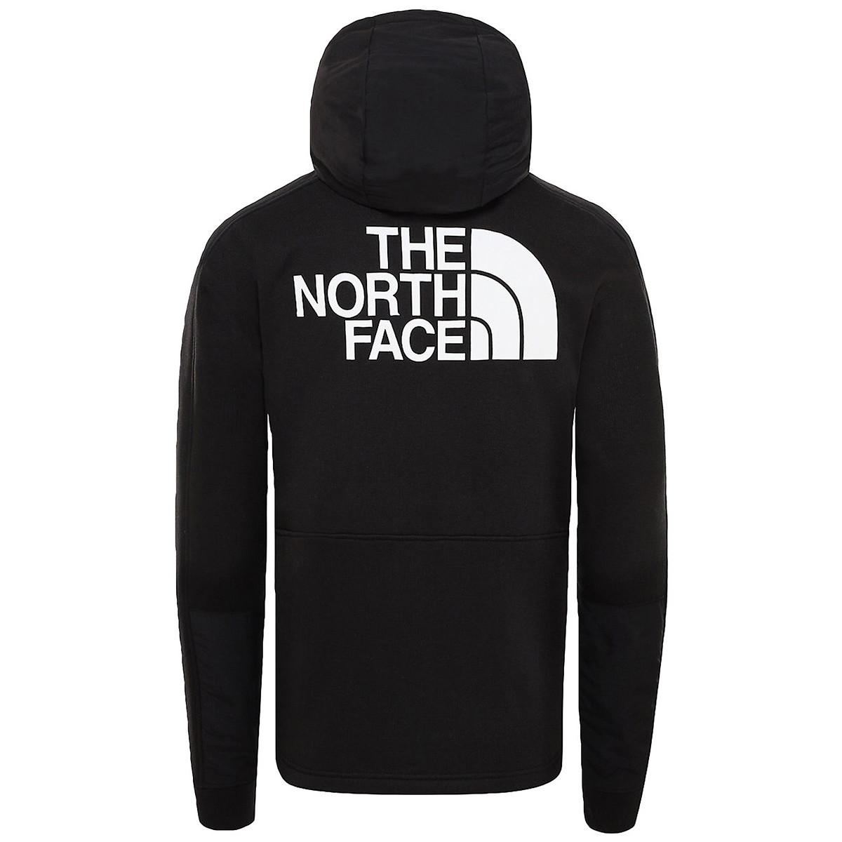 The North Face Sweater Graphic Hoodie Zip Nse in het Zwart voor heren
