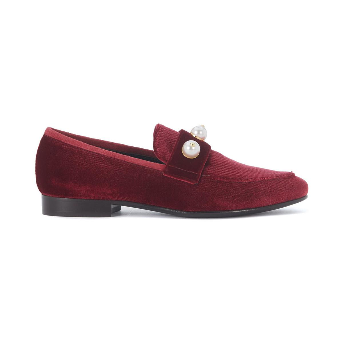 Via Roma 15 velvet slippers sast for sale with paypal sale online R5M4Xq7Ow