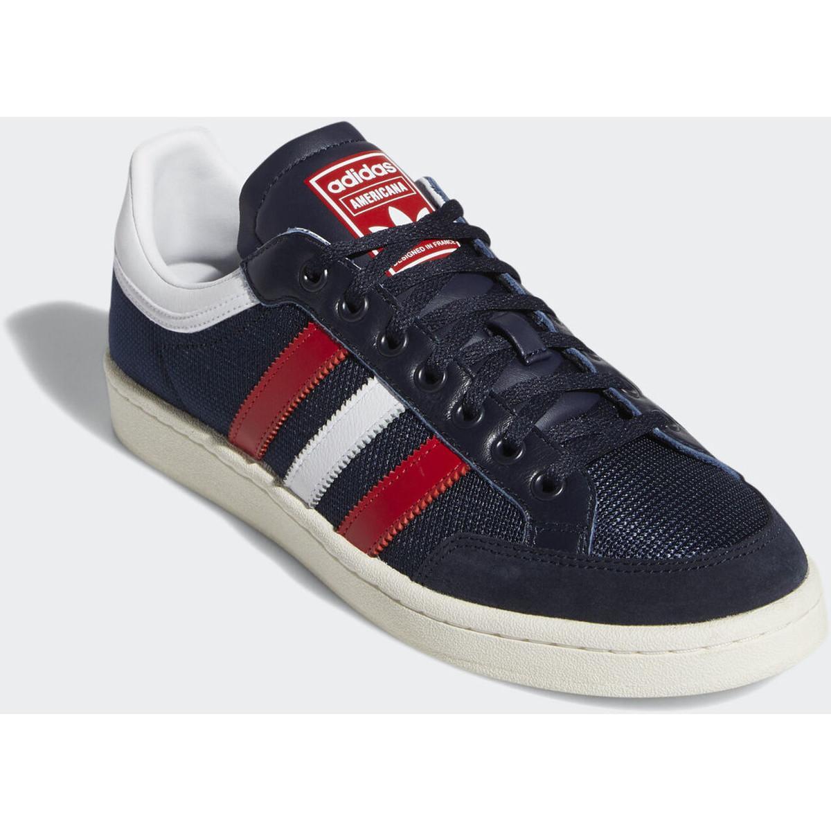 adidas Lage Sneakers Americana Low Schoenen in het Blauw voor heren