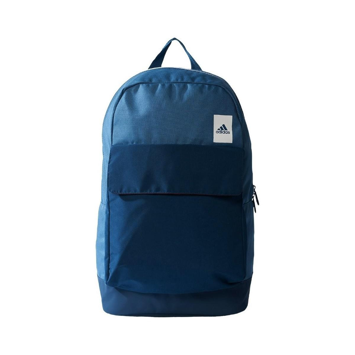 987937cf9a9a Adidas Good Backpack Solid Men s Backpack In Blue in Blue for Men - Lyst