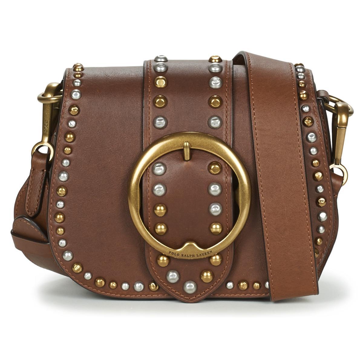 e57ecc277bc8 Polo Ralph Lauren Belt Saddle-crossbody Women s Shoulder Bag In ...