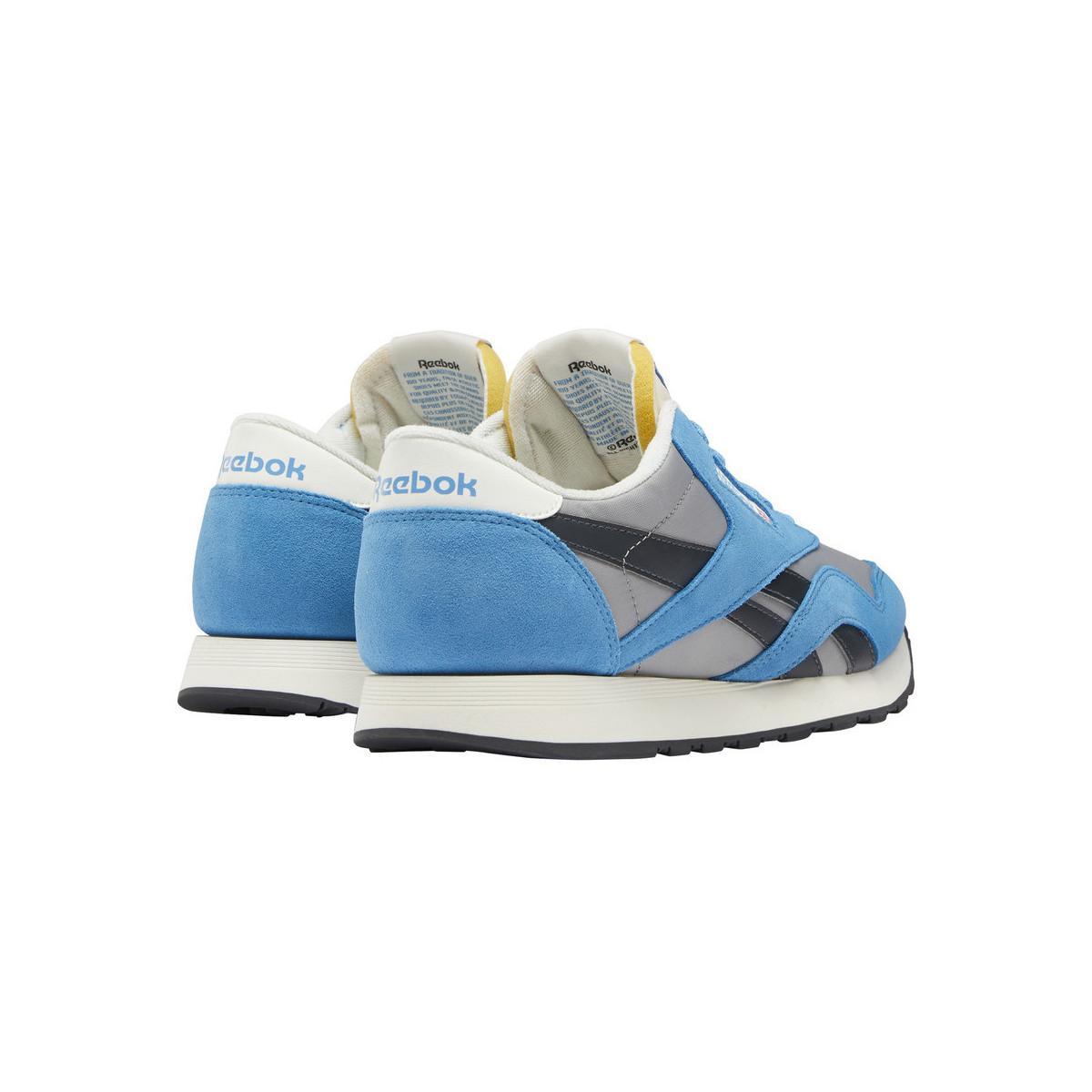 Basket CLASSIC NYLON hommes Chaussures en bleu Synthétique Reebok pour homme en coloris Bleu OQFP