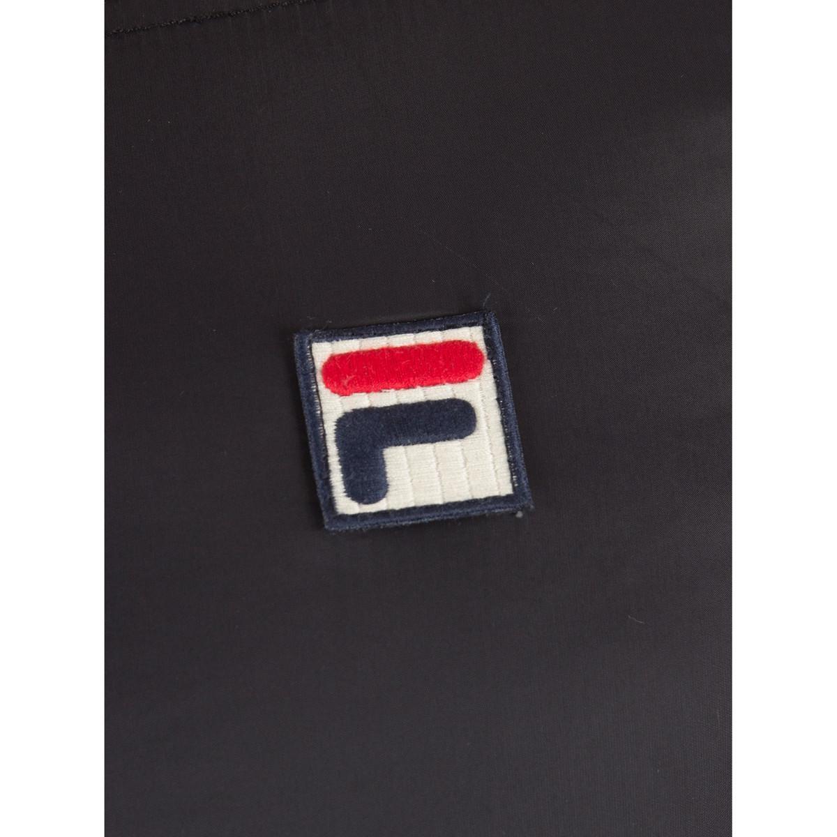 Fila Synthetic Men's Vincenzi Padded Jacket, Black Men's Jacket In Black for Men