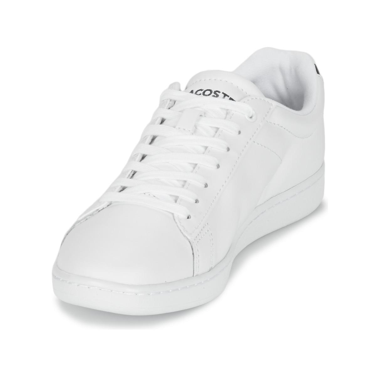 a07410c0e8 Lacoste - White CARNABY EVO BL 1 femmes Chaussures en blanc - Lyst.  Afficher en plein écran