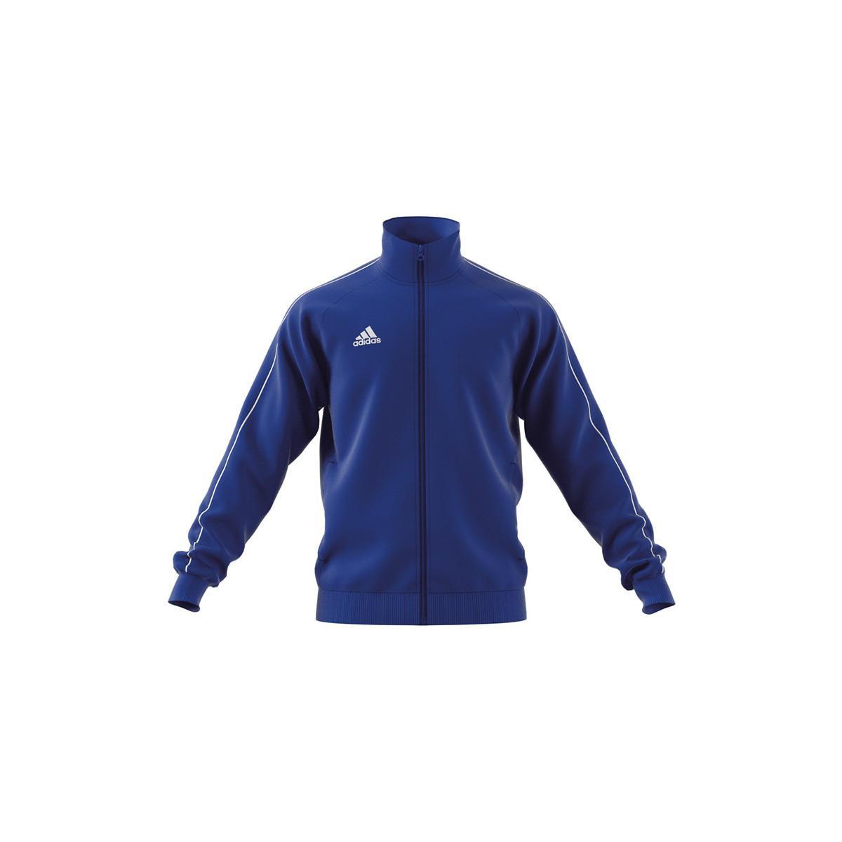 adidas Synthetisch Trainingsjack Core 18 Polyester Jacke in het Blauw voor heren