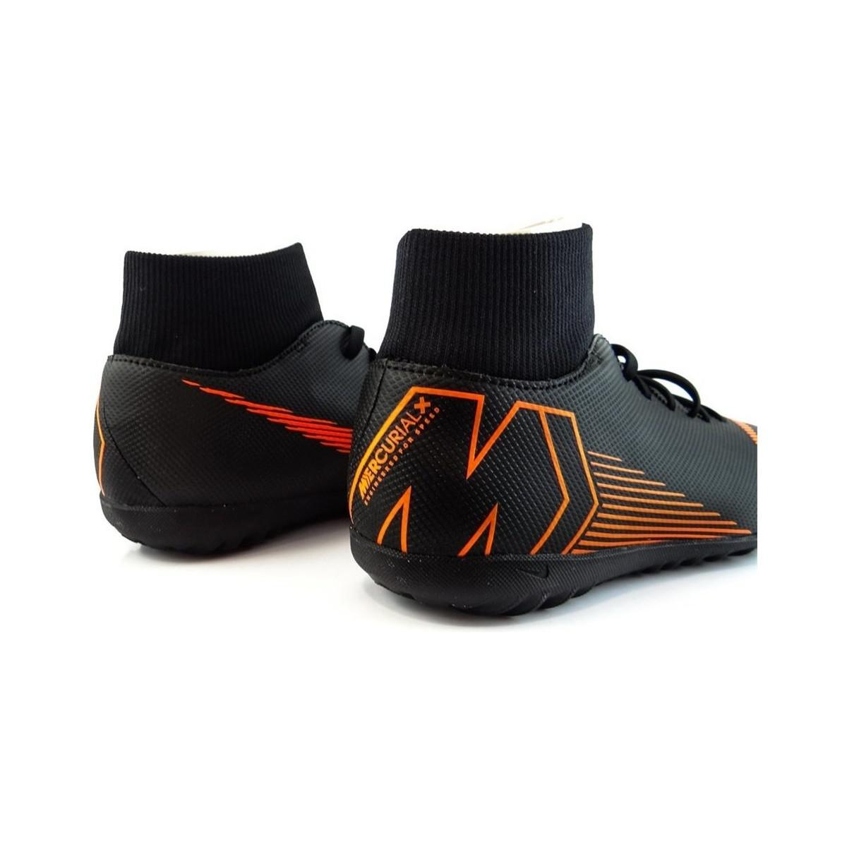 Nike Mercurial Superflyx Vi Club Tf Men's Shoes (trainers) In Black for Men