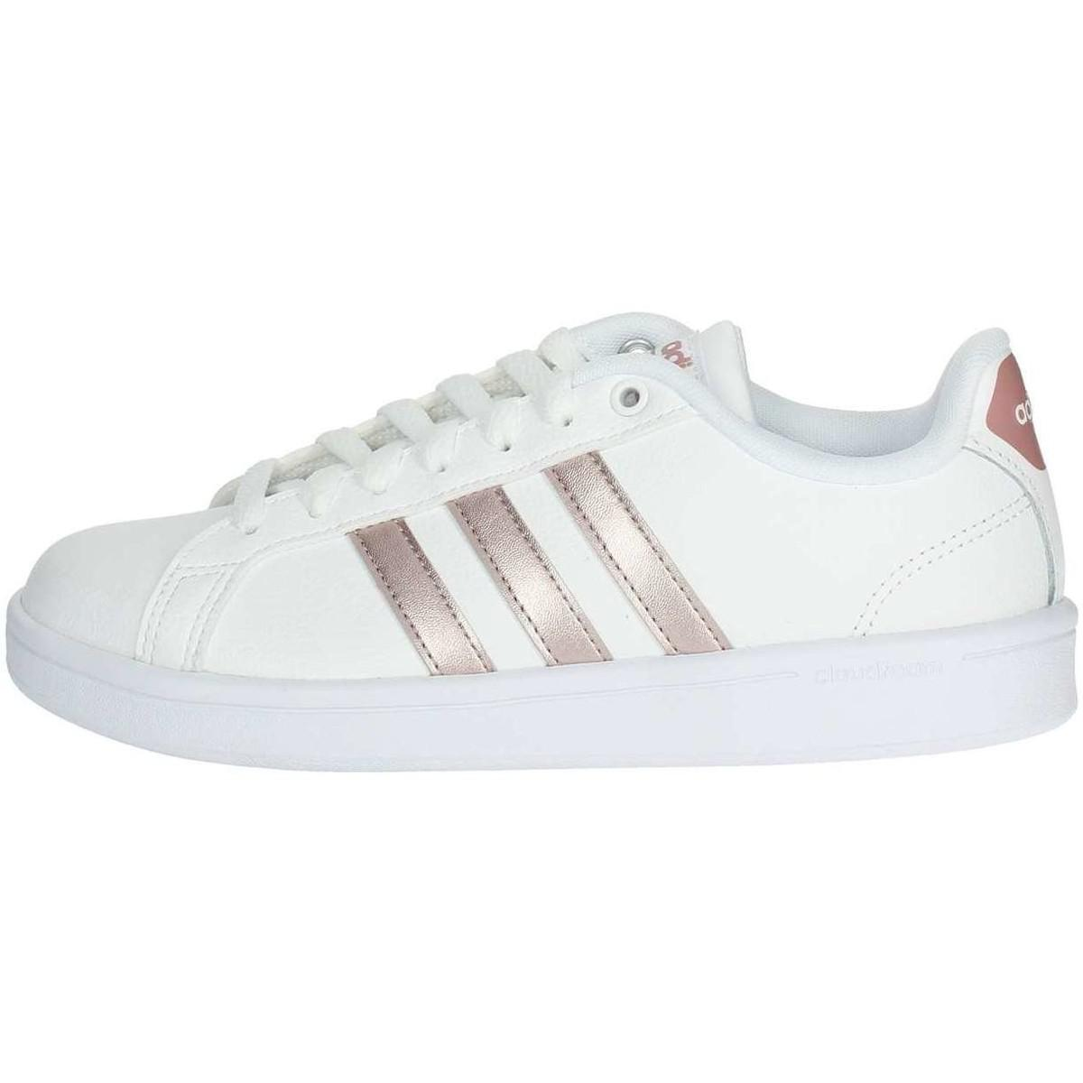 sports shoes c694f 855ed adidas Da9524 Women s Shoes (trainers) In White in White - Lyst