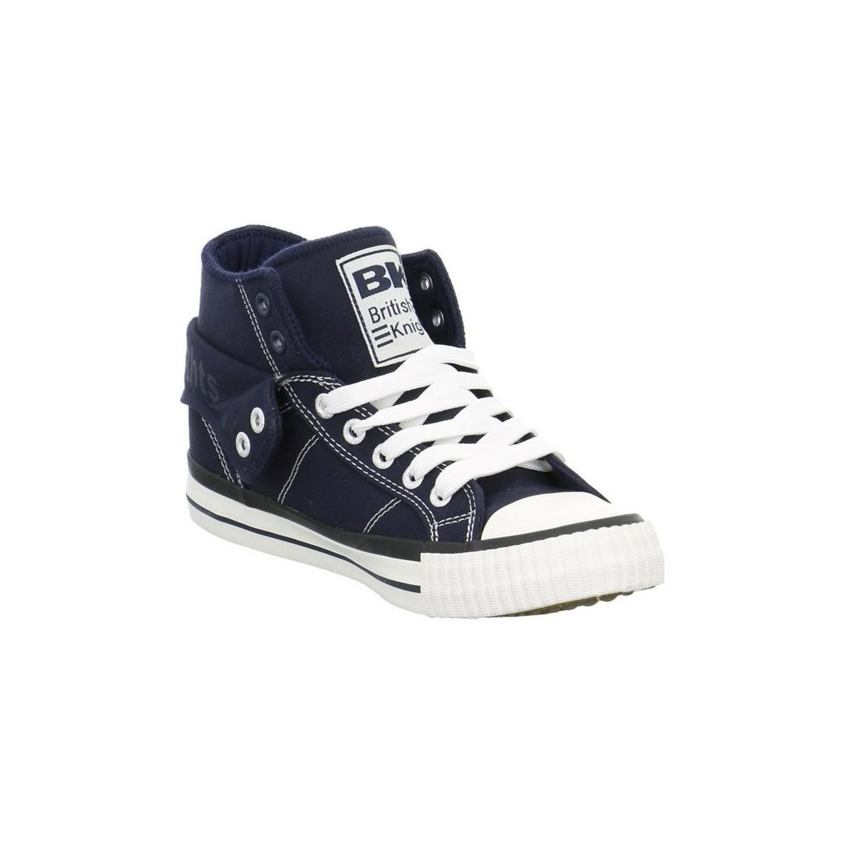 British Knights Roco Canvas Men's Shoes (high-top Trainers) In Blue for Men
