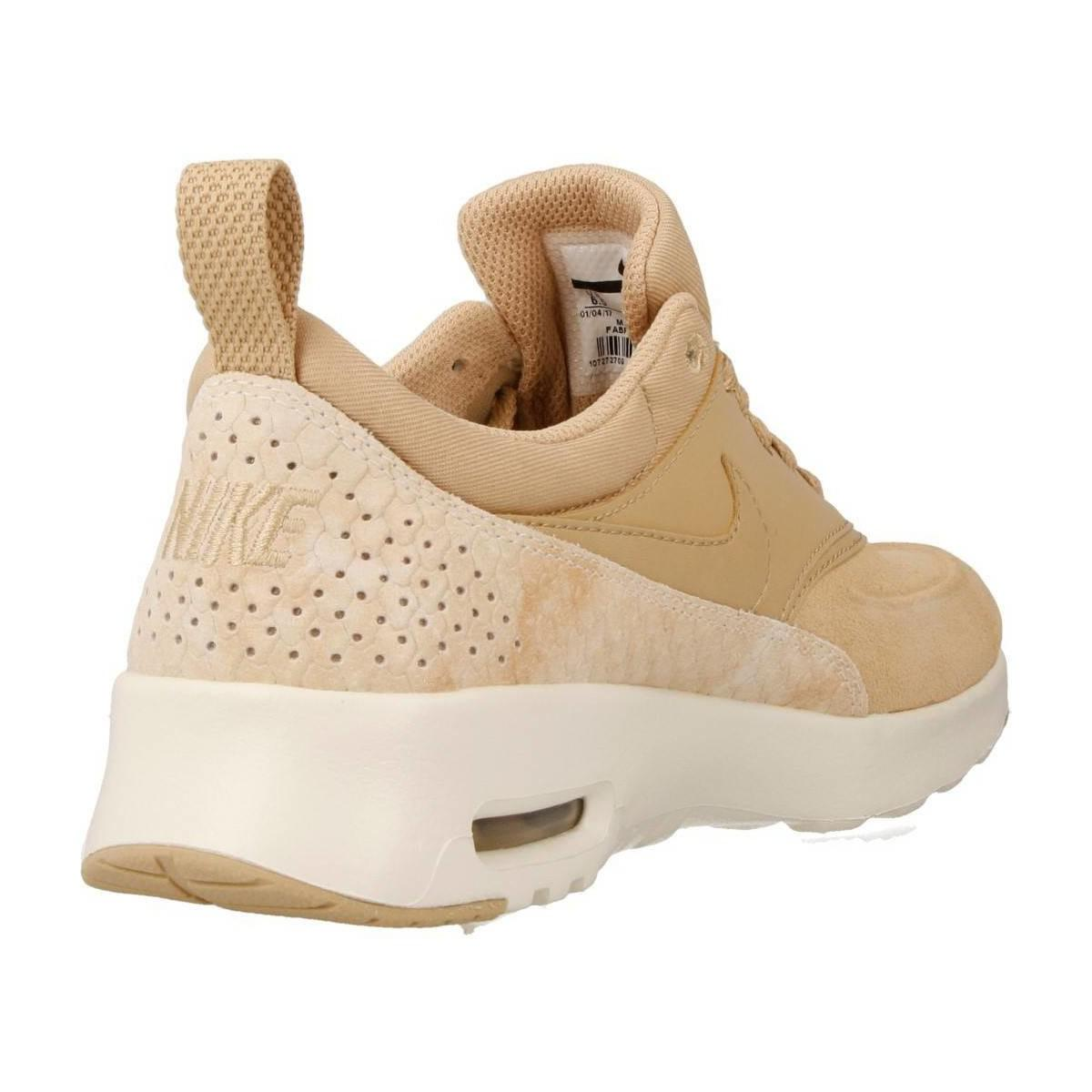 Nike Air Max Thea Prm Women's Shoes (trainers) In Beige in Natural