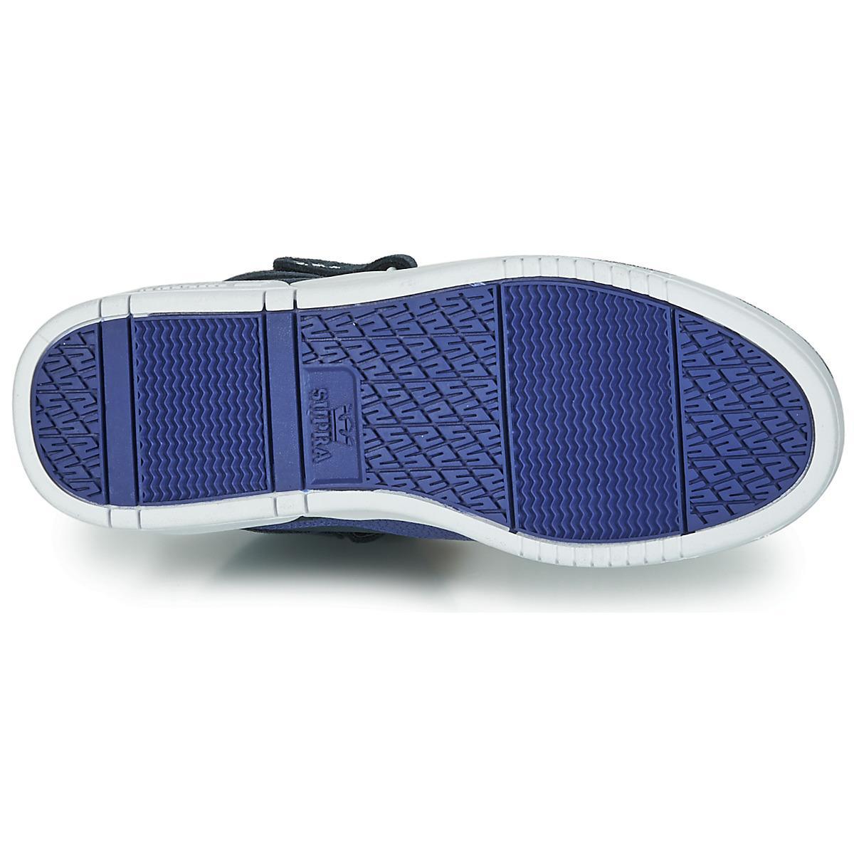 74f61de869 Breaker Coloris Chaussures Bleu Supra En Lyst Femmes W9ED2IH