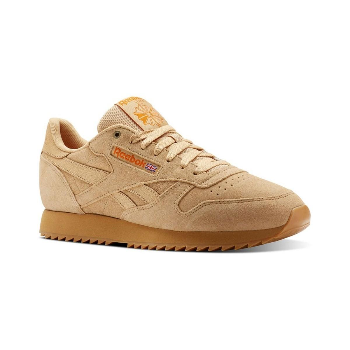 cea174ca4a3 Reebok - Natural Classic Leather Montana Cans Women s Shoes (trainers) In  Beige - Lyst. View fullscreen