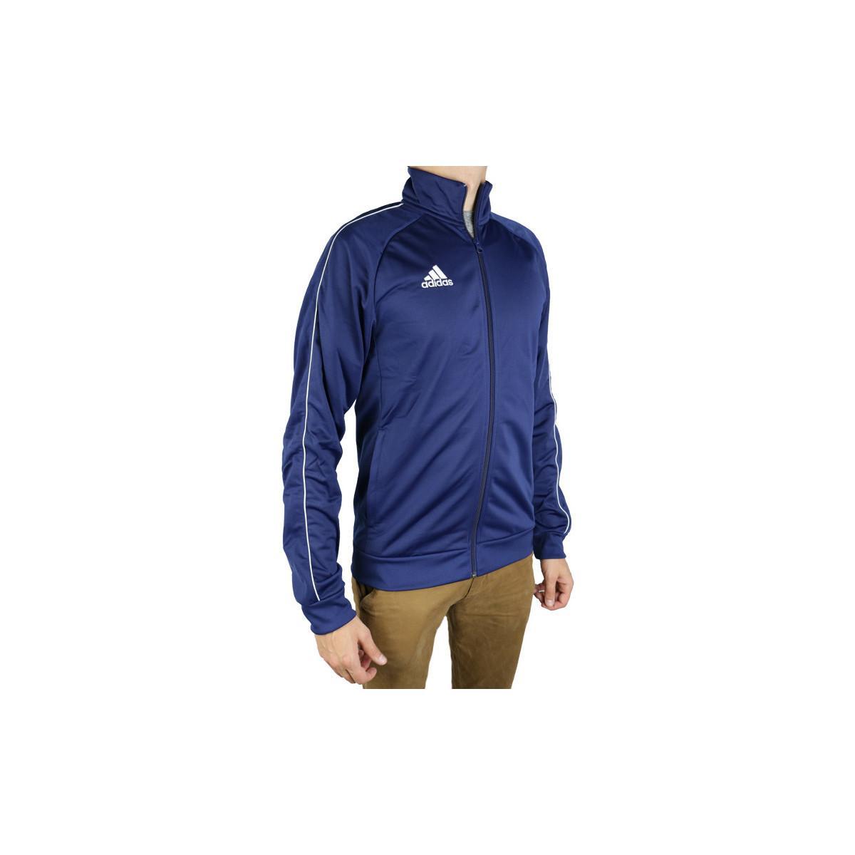 adidas Trainingsjack Core 18 Pes Jkt Cv3563 in het Blauw voor heren