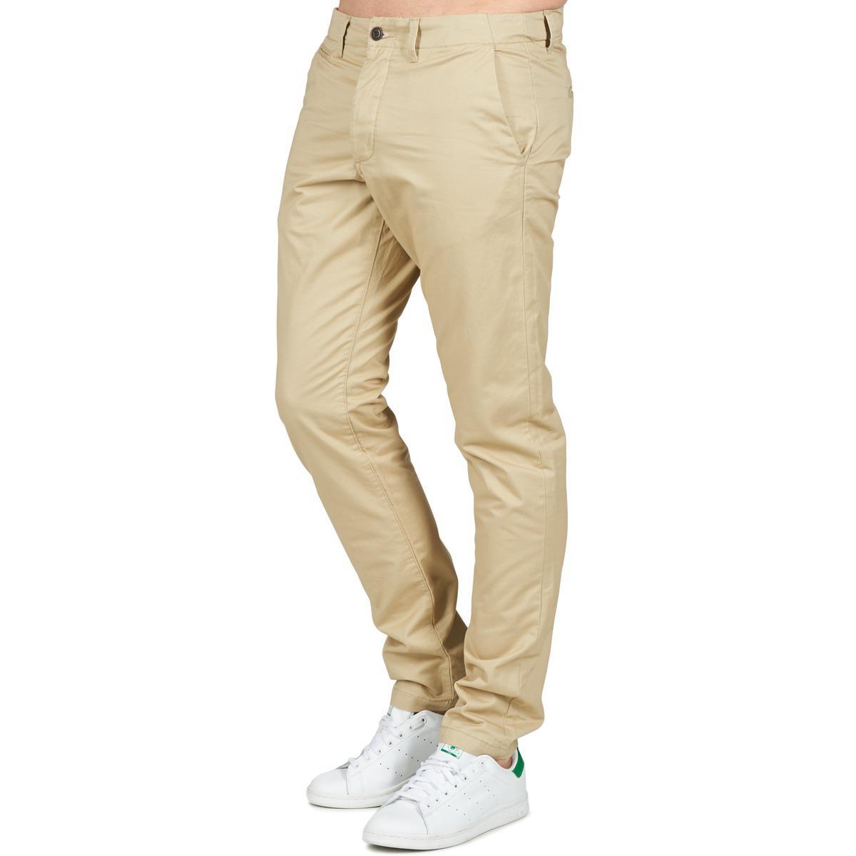 Jack & Jones Denim Cody Jeans Intelligence Trousers in Beige (Natural) for Men