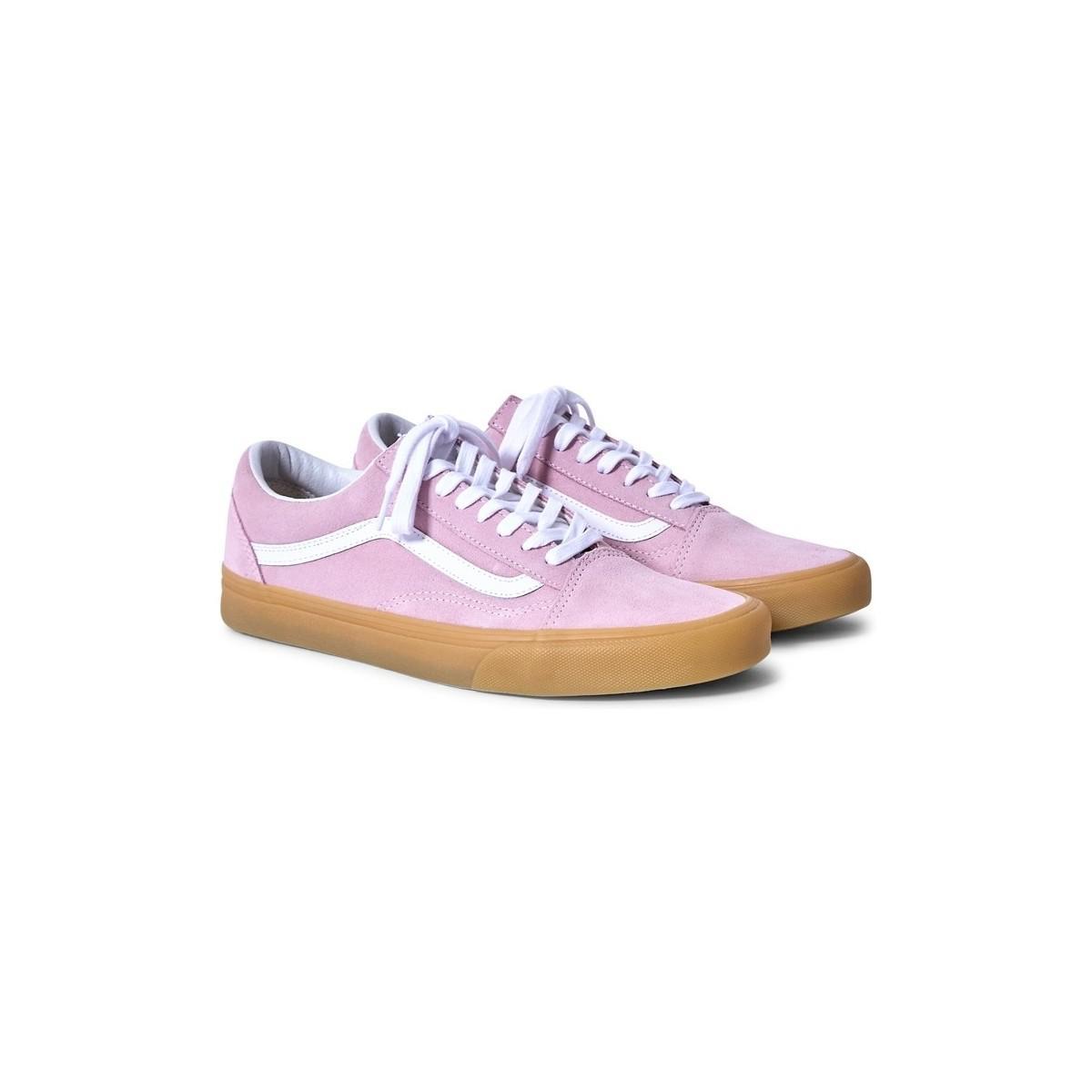 Vans Old Skool Trainers Gum Sole Pink