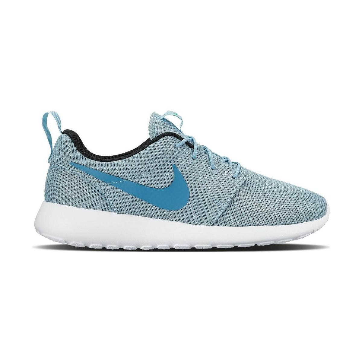 reputable site 6cd99 cea35 Nike Roshe One 511881 407 Men s Shoes (trainers) In Blue in Blue for ...