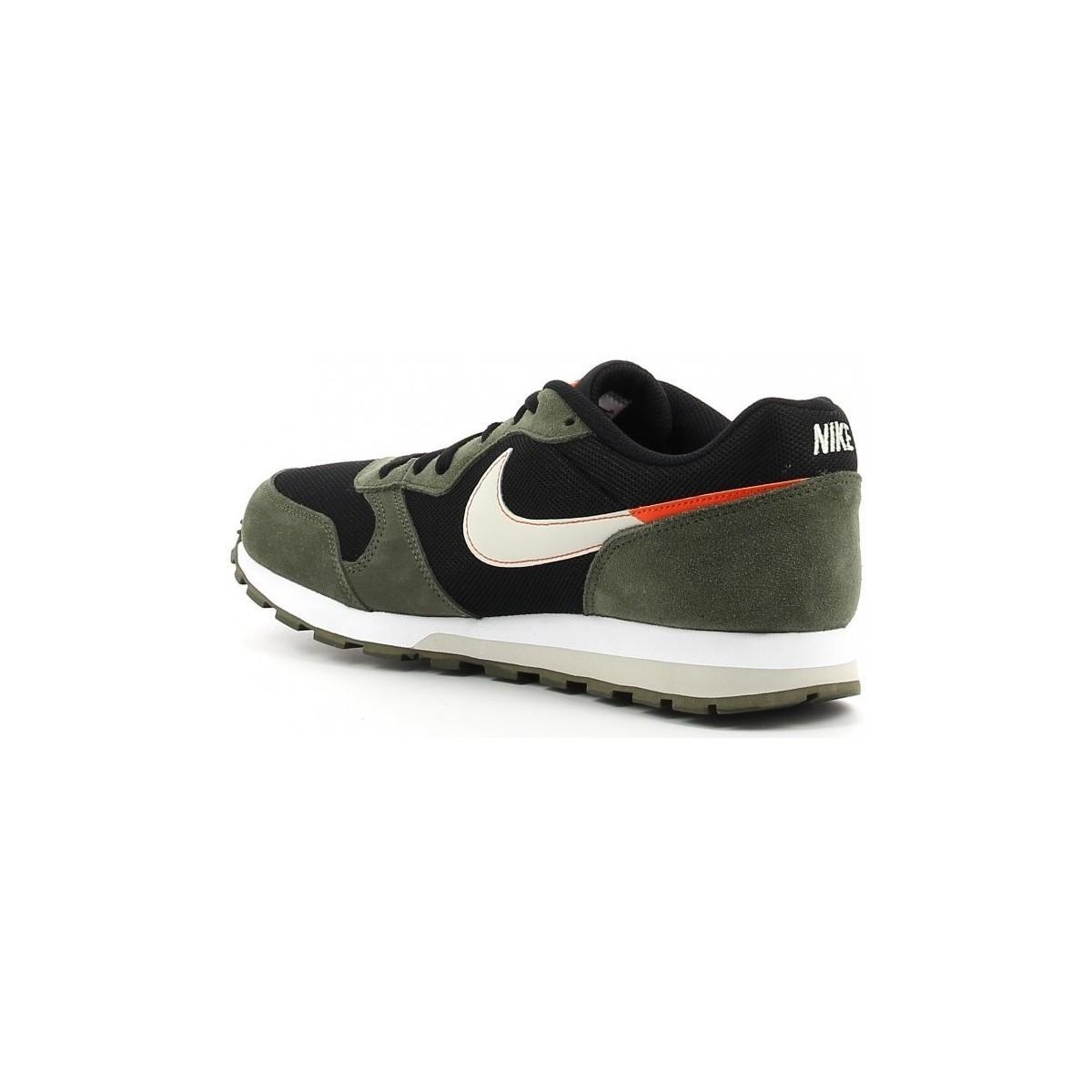 Nike Lage Sneakers Md Runner in het Groen voor heren