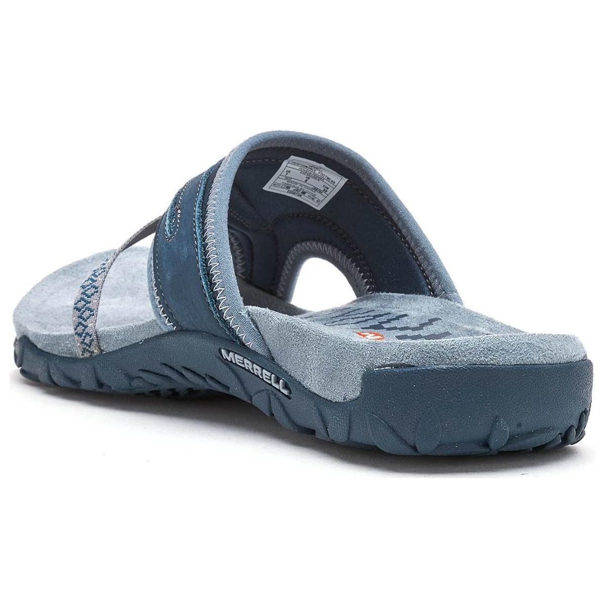 5f01ee60d76b Merrell - Terran Post Ii Women Sandals In Slate Blue J98750 Women s Sandals  In Blue -. View fullscreen