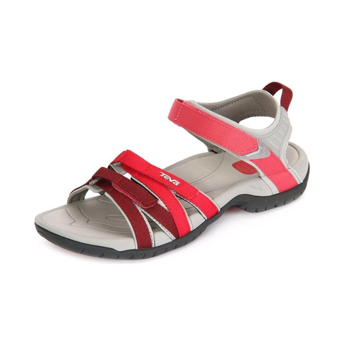 0b17d97f584c Teva Tirra Ws Red Gradient Textil Women s Sandals In Multicolour in ...
