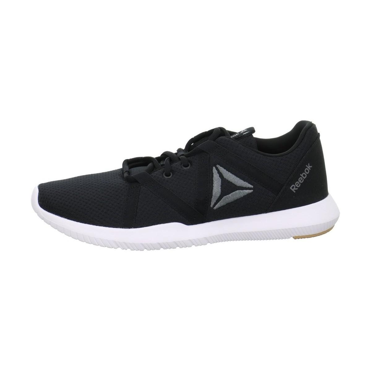 c43d2a90facd Reebok Reago Essential Men s Shoes (trainers) In Black in Black for ...