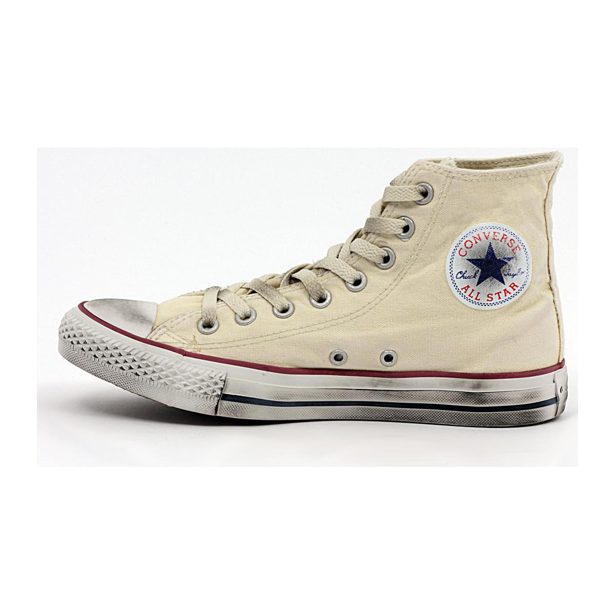 Converse All Star Hi White Smoke Limited Women's Shoes (high-top Trainers) In Multicolour