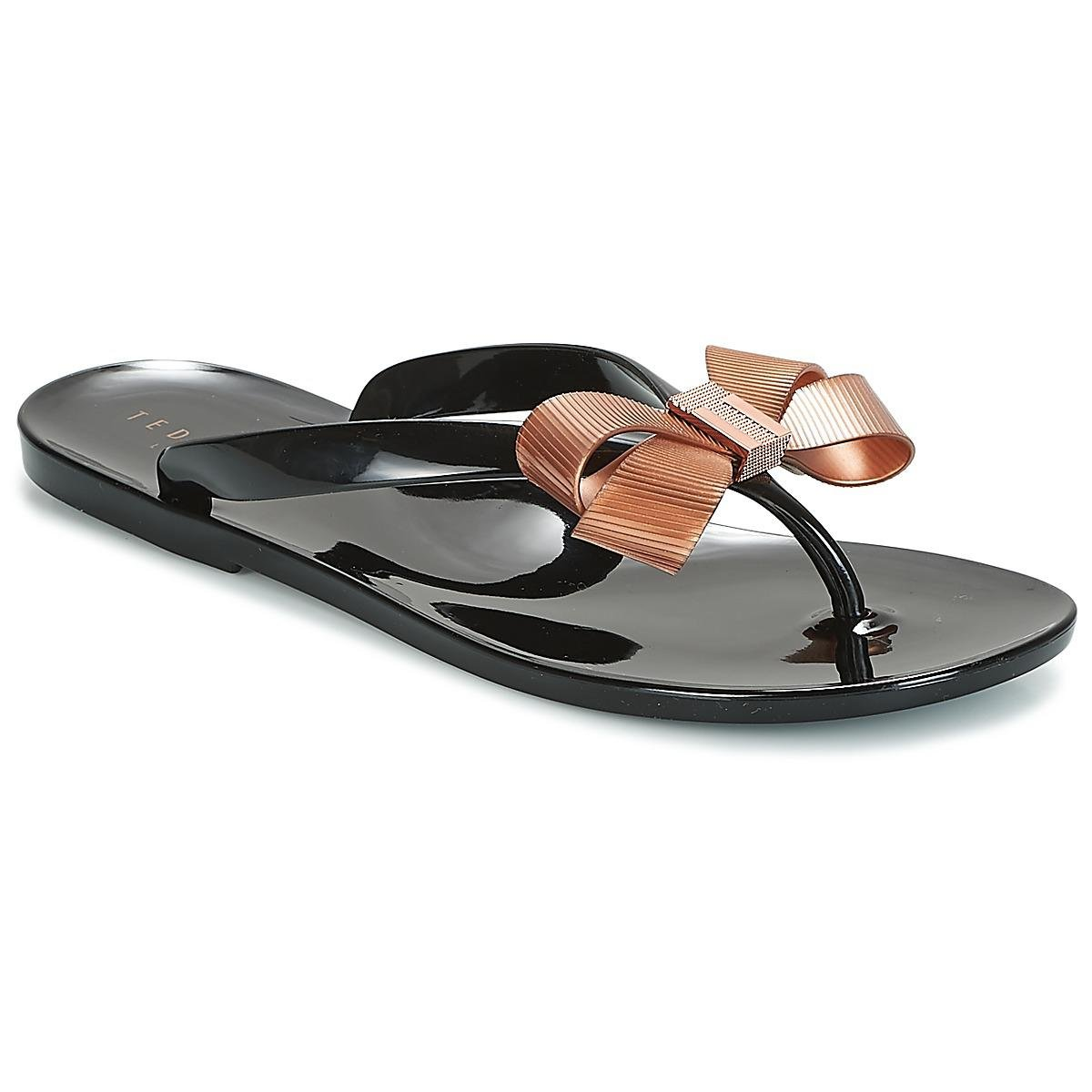 55115320f94c Ted Baker Suszie Sandals in Black - Lyst