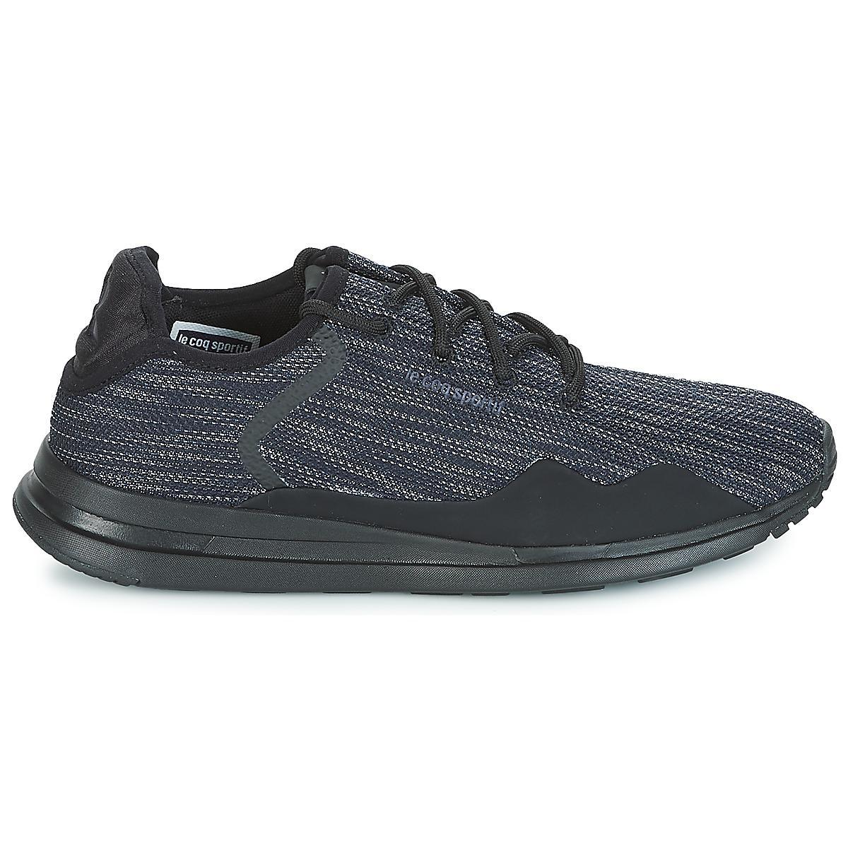 f7c022d3cf68 Le Coq Sportif - Solas Premium Men s Shoes (trainers) In Black for Men -.  View fullscreen