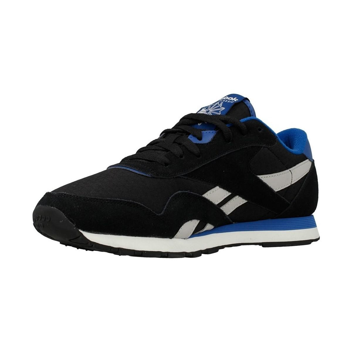 Reebok Synthetic Cl Nylon Rs Men's Shoes (trainers) In Blue for Men