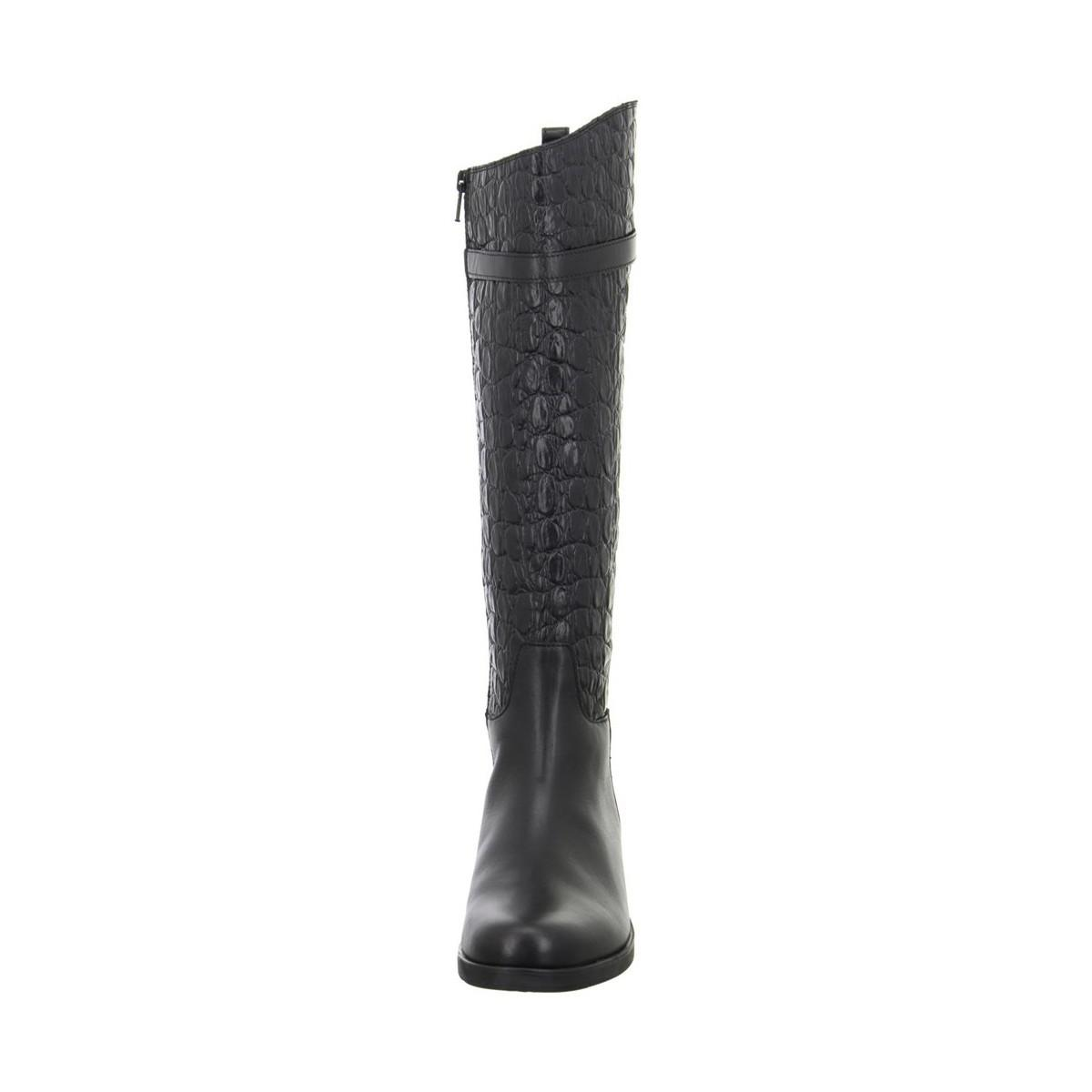 Clarks Hopedale Wish Women's High Boots In Black