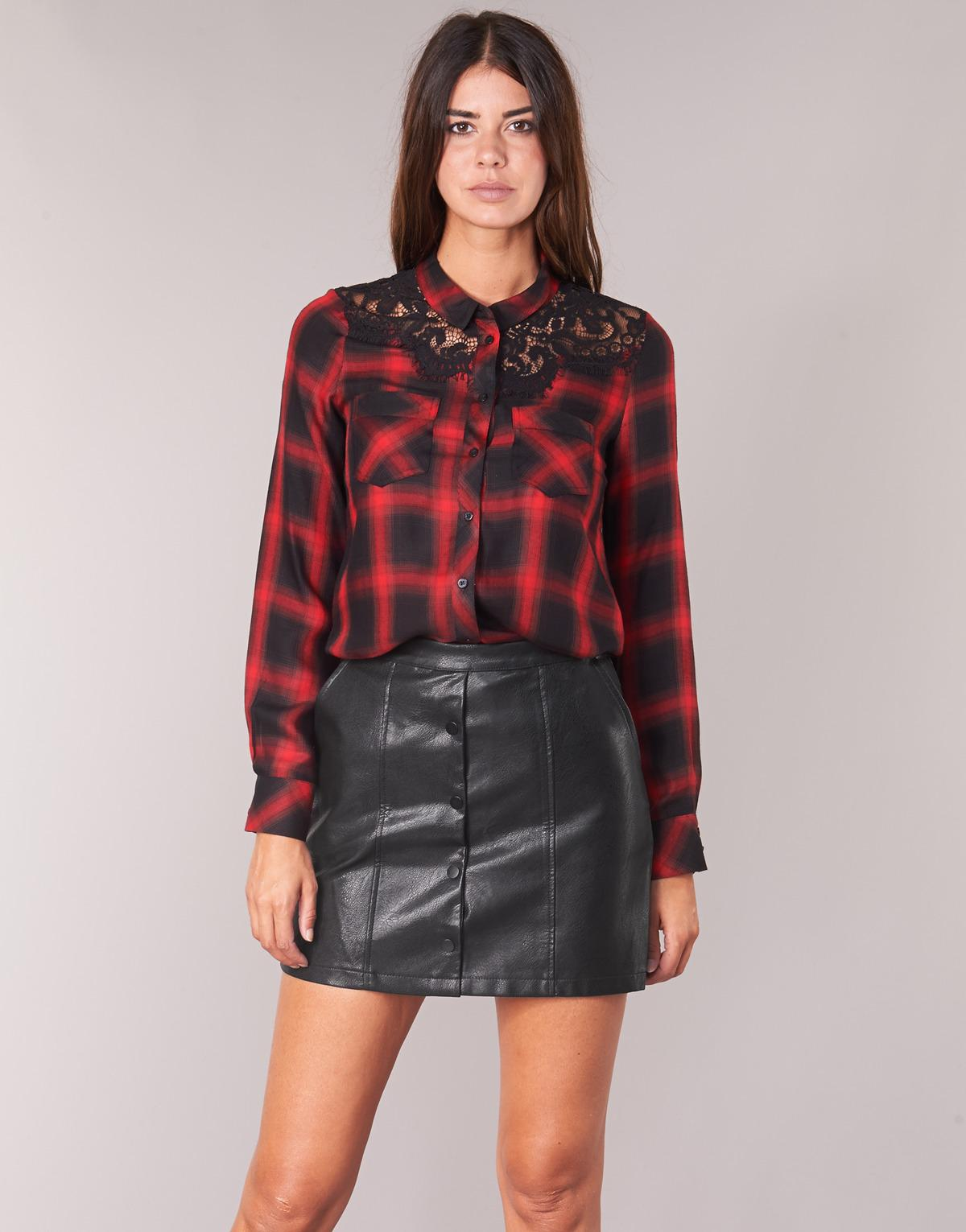 e2d66719192 Guess Domitille Shirt in Red - Lyst