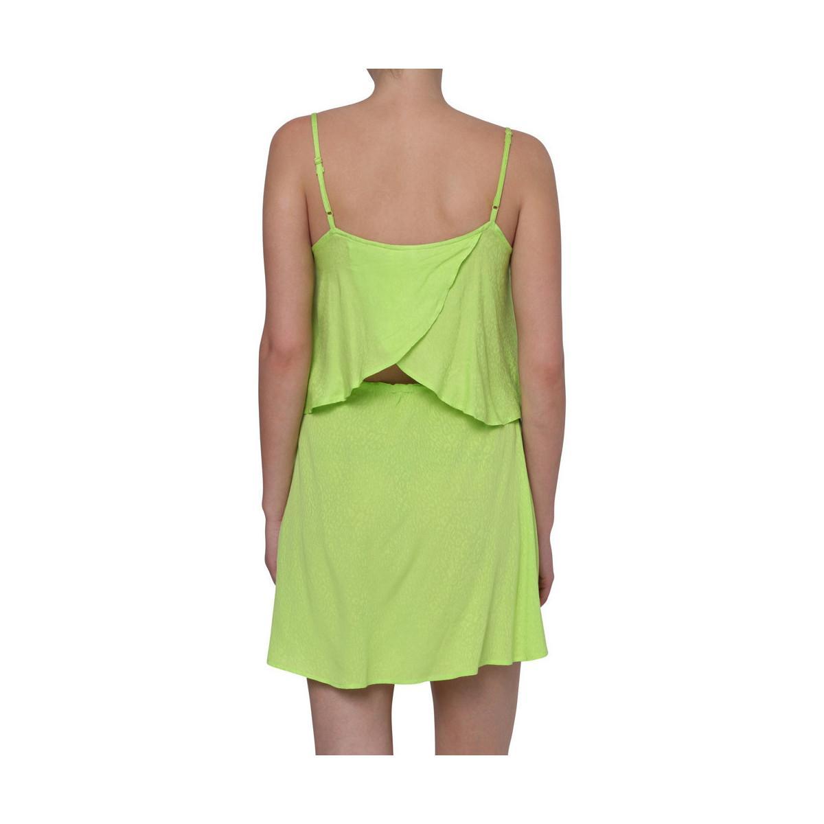 Solid Loepard Dress Robe O'neill Sportswear en coloris Vert