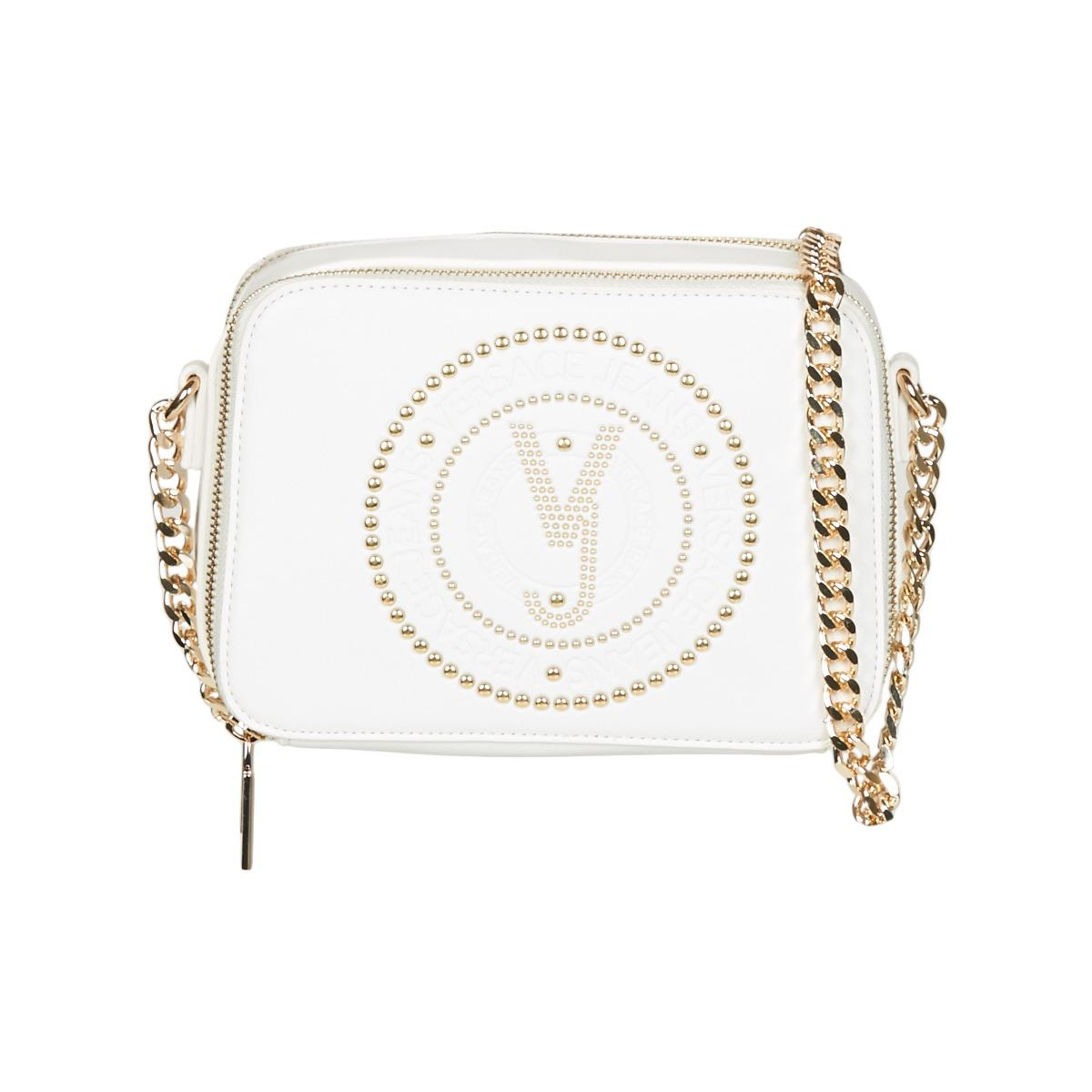 72cbbb9272 Versace Jeans E1vrbbqa Women's Shoulder Bag In White in White - Lyst