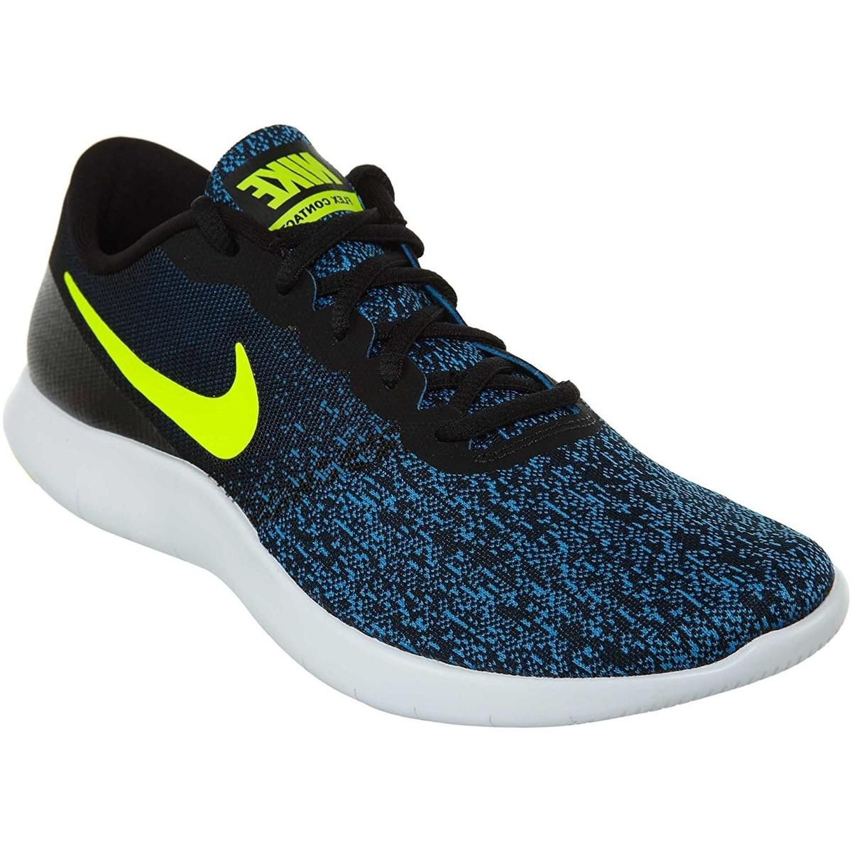 2d4a3e58a2691 Nike Flex Contact Running Shoe Men s Shoes (trainers) In Blue in ...