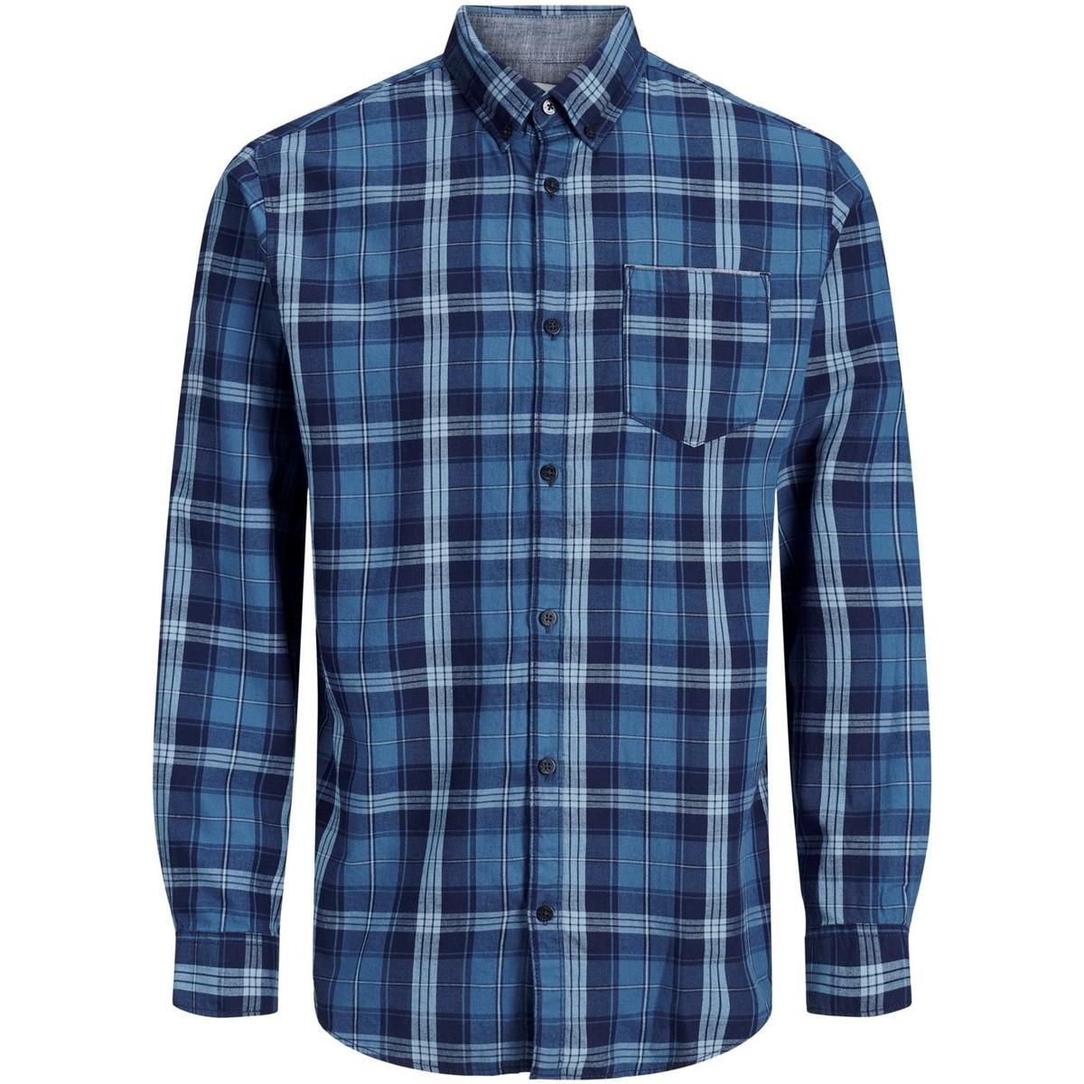 bcc7f49161 Jack   Jones Camisa Jccocentral Shirt Ls One Pocket Men s Long ...
