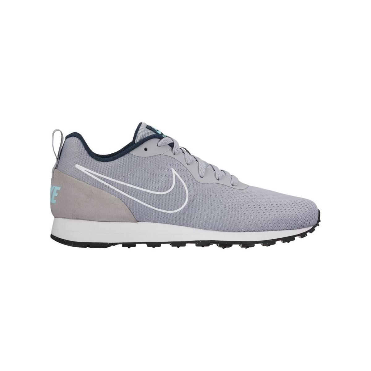 Hacia abajo Acuerdo Tierras altas  Nike Md Runner 2 Mesh Shoe Men's Shoes (trainers) In Grey in Gray ...