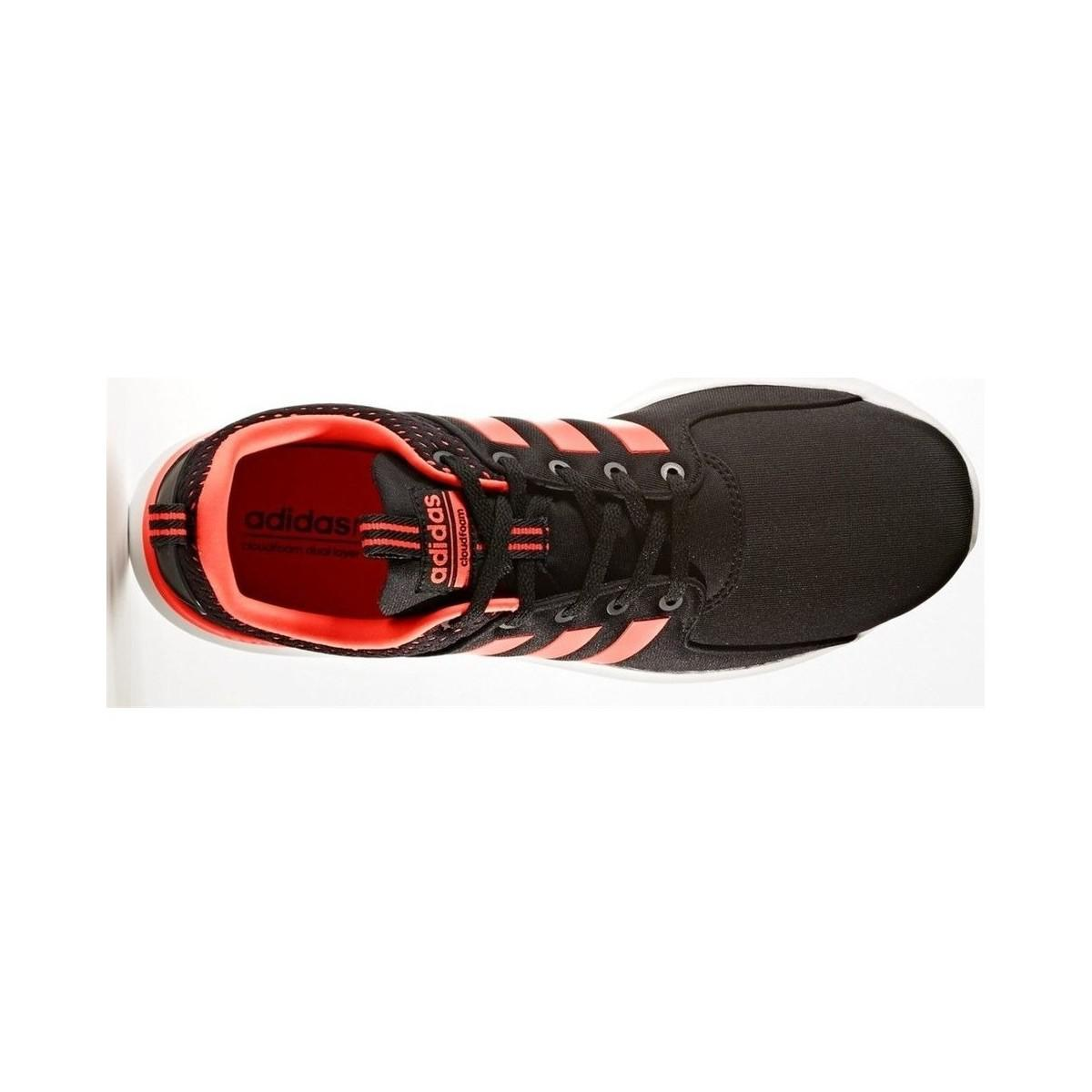 adidas Neo Cloudfoam Cf Lite Racer Men's Shoes (trainers) In Orange for Men