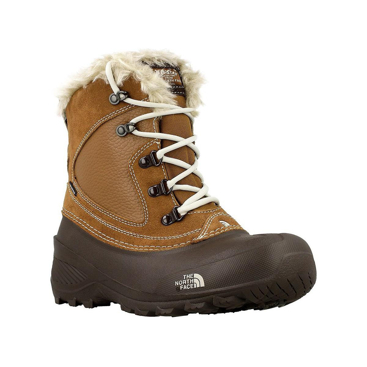 7dbbcfd62 The North Face Youth Shellista Women's Walking Boots In Brown - Lyst