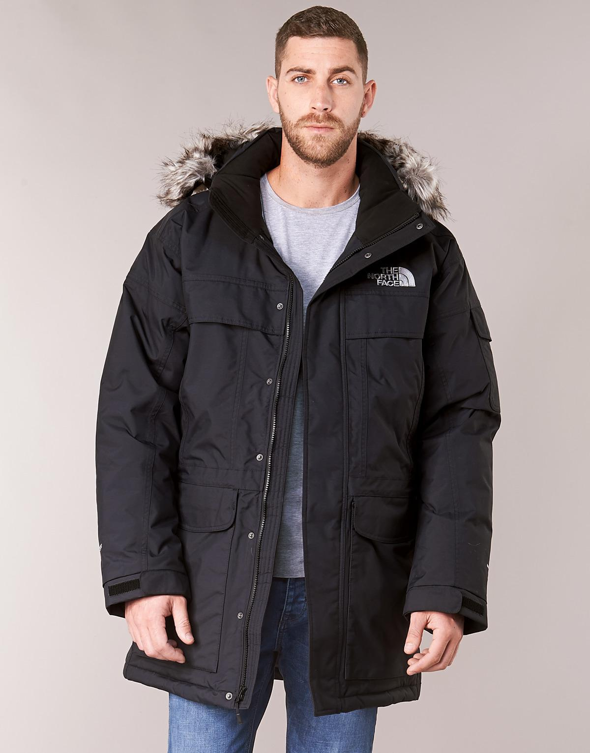 5c4ffc3595 Lyst - MCMURDO hommes Parka en Noir The North Face pour homme en coloris  Noir - 30 % de réduction