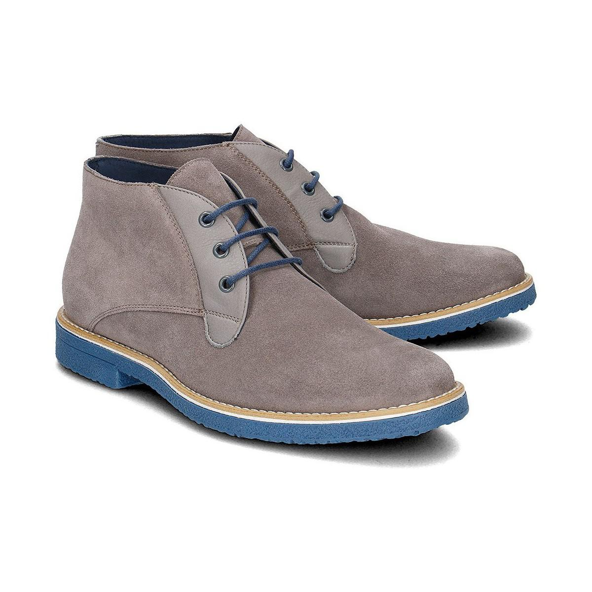 Gino Rossi Damazy Men's Shoes (high-top Trainers) In Grey in Grey for Men