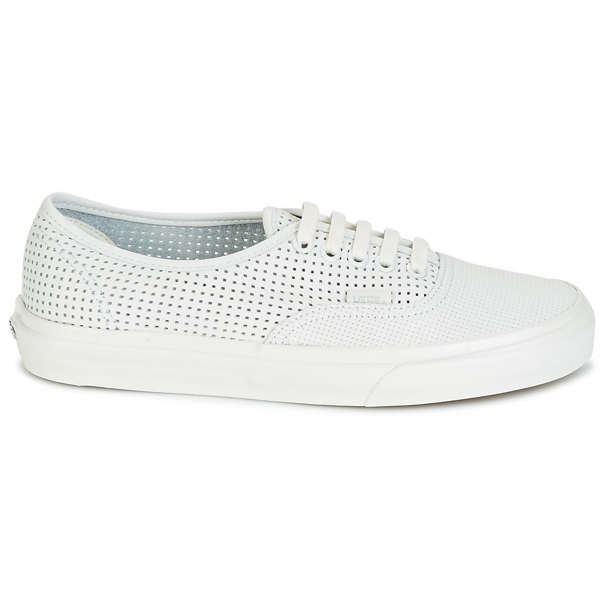 Vans Ua Authentic Dx Women's Shoes (trainers) In White