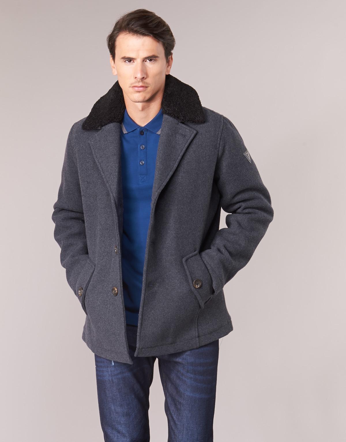 Manteau KOREANA Guess pour homme en coloris Gris 7EE4f
