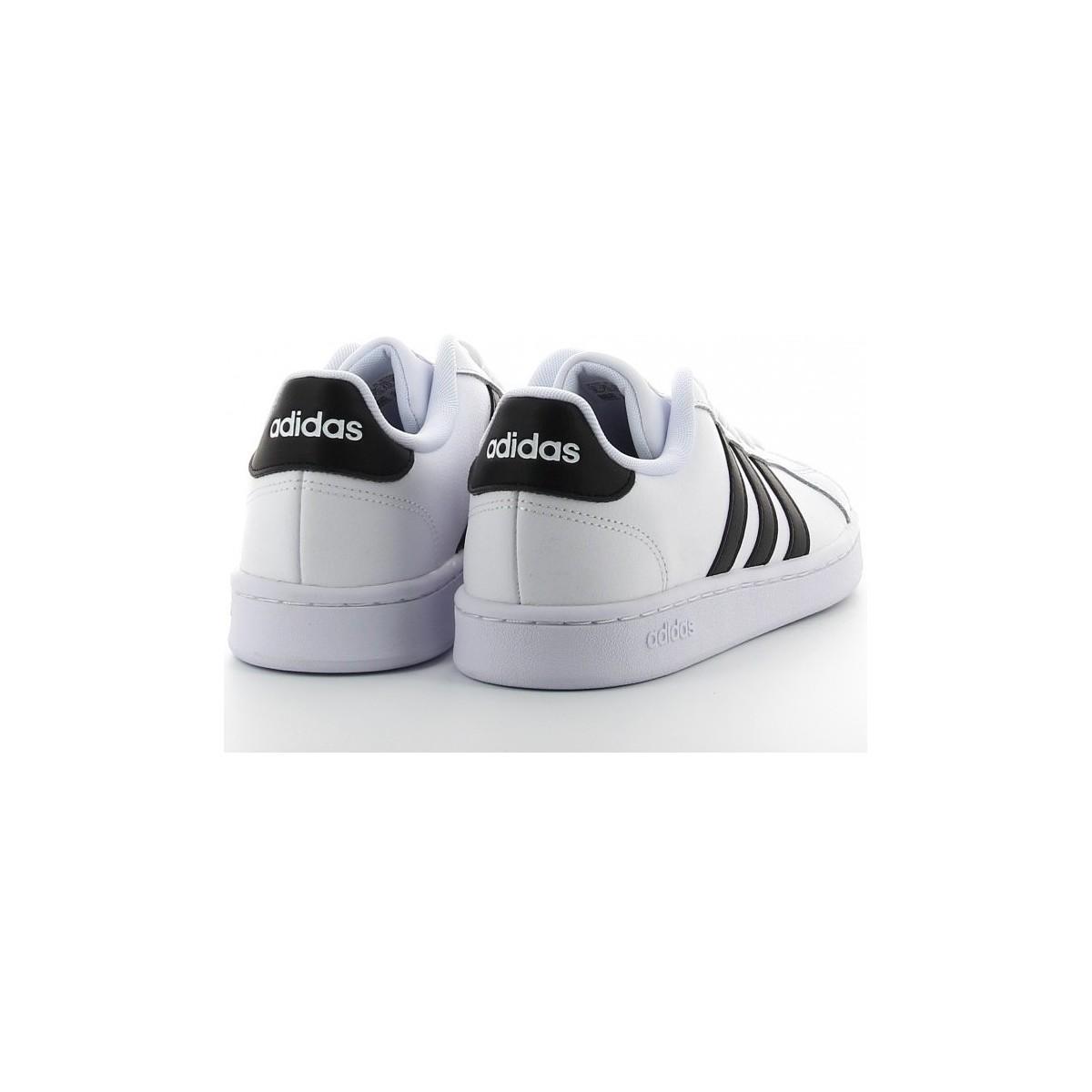 GRAND COURT blanco Chaussures adidas pour homme en coloris Blanc