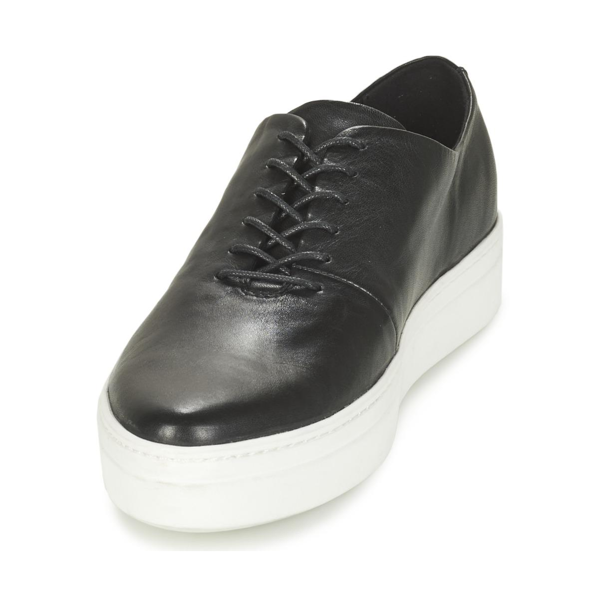 Vagabond Leather Camille Shoes (trainers) in Black