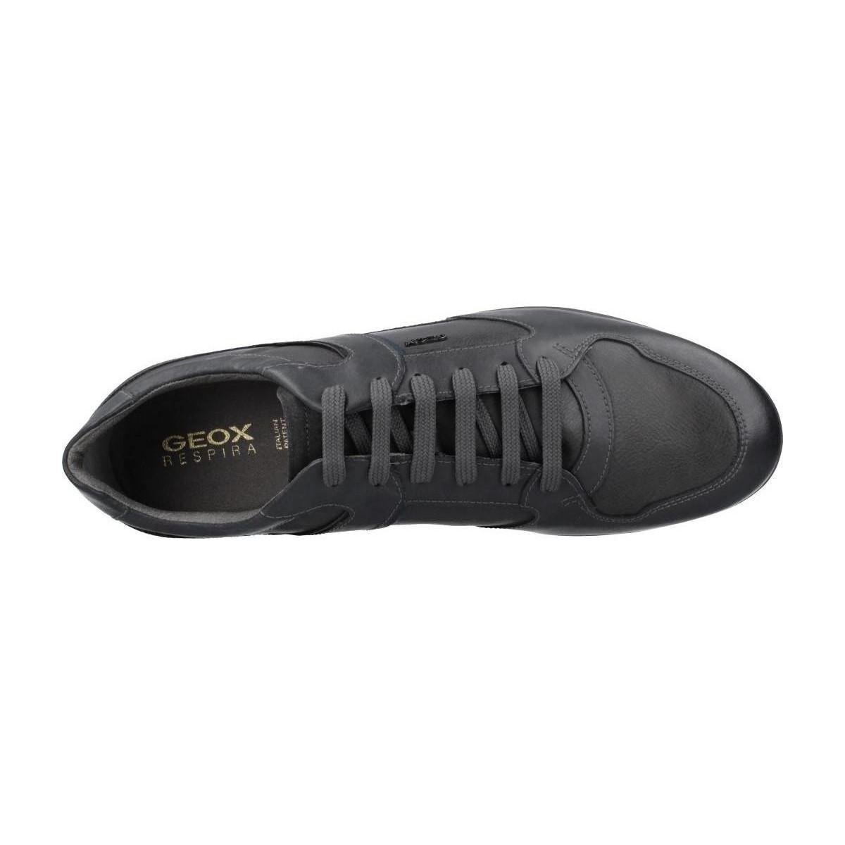 Geox Lage Sneakers Clme Uomo Symbol in het Grijs voor heren