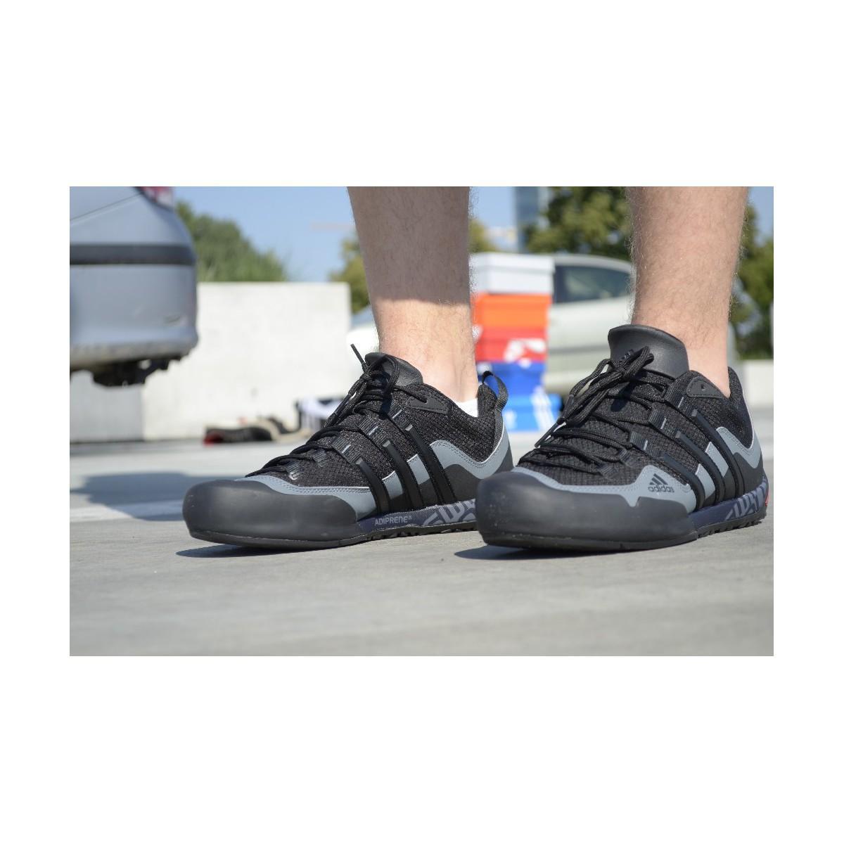 adidas Herrenschuhe Terrex Swift Solo D67031 in Schwarz für Herren
