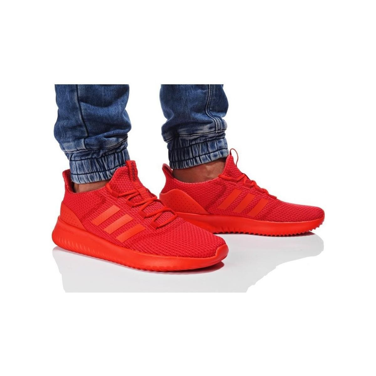 red adidas cloudfoam ultimate