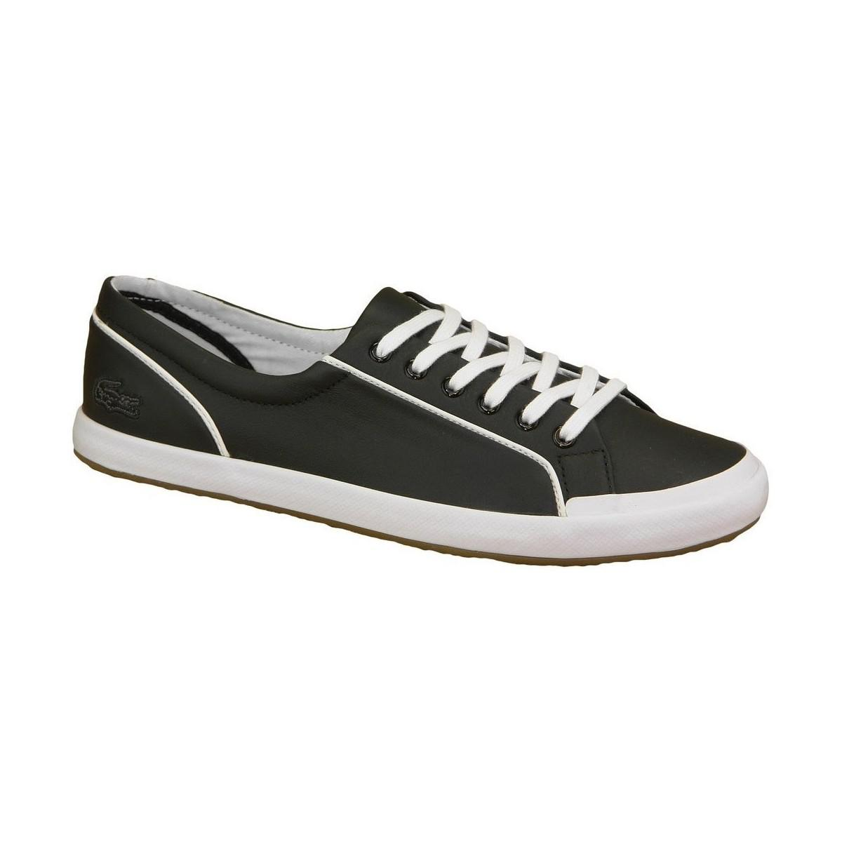 98f3c648856c Lacoste Lancelle Lace 6 Eye Women s Shoes (trainers) In Black in ...